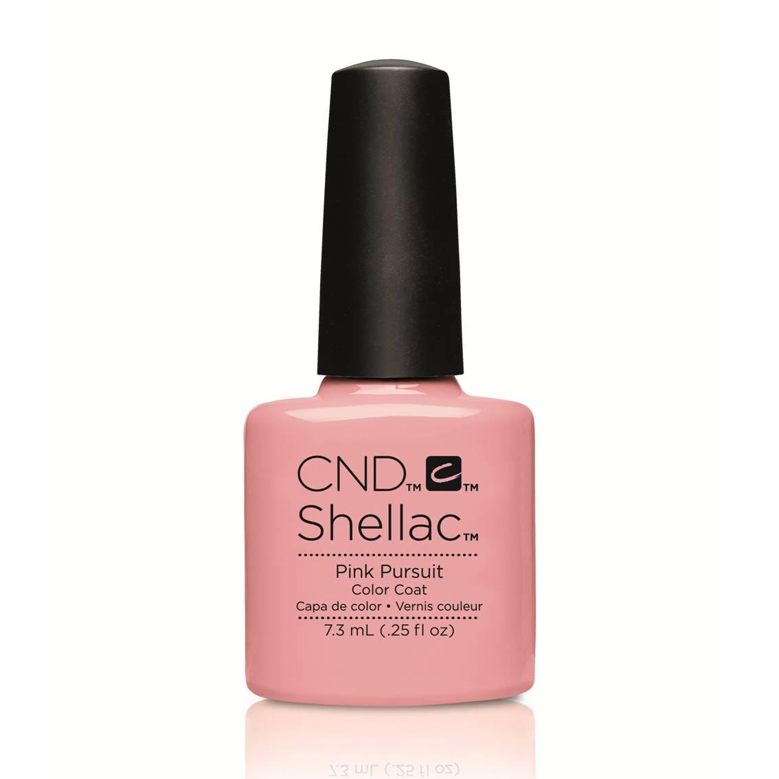 cnd shellac pink pursuit flirtation collection. Black Bedroom Furniture Sets. Home Design Ideas